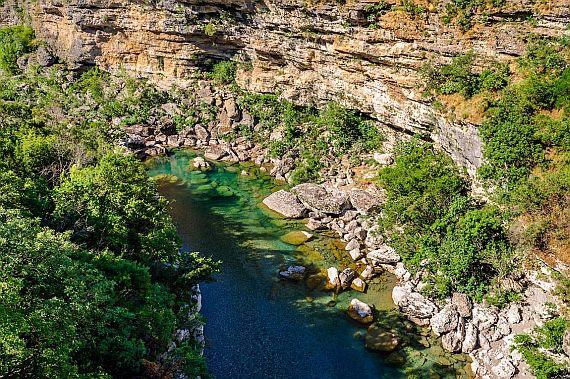Черногория. Каньон реки Морача