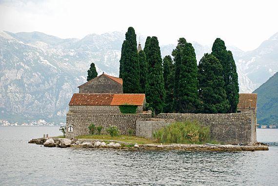 Черногория. Остров Святого Георгия