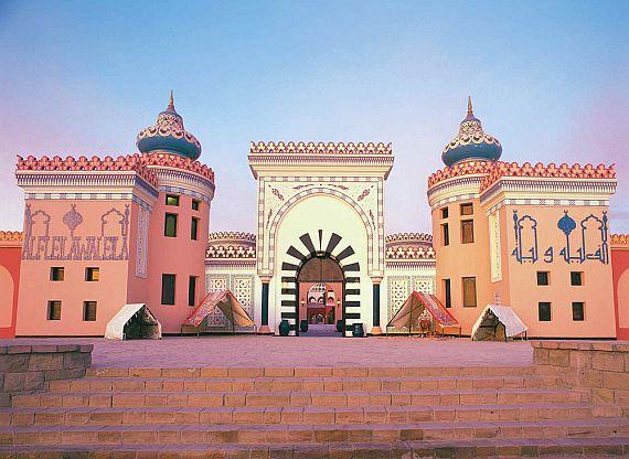 Дворец Тысяча и одна ночь в Хургаде