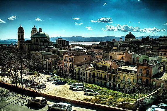 Главный город Сардинии - Кальяри