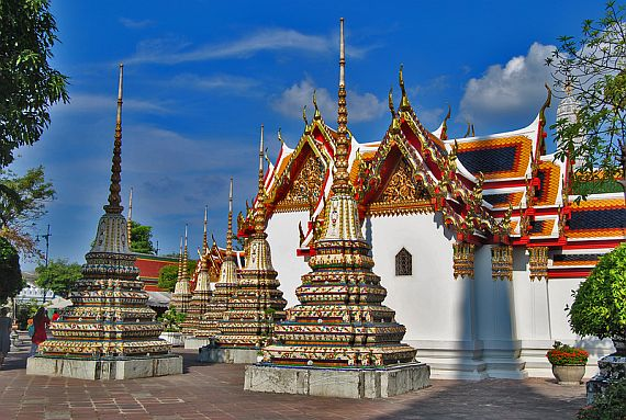 Храм Ват Пхо - Храм Лежащего Будды