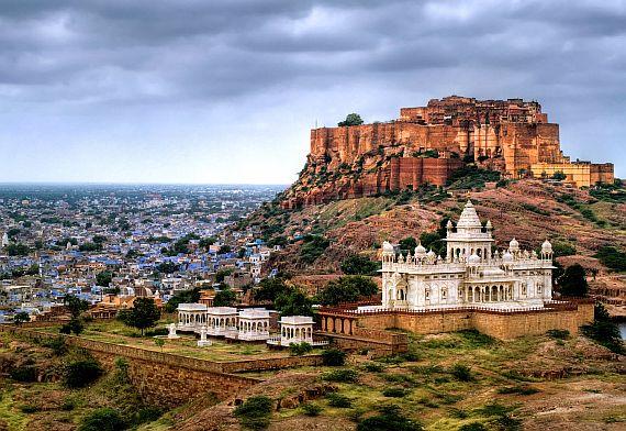 Индия для туристов. Мехрангарх в городе Джодхпур