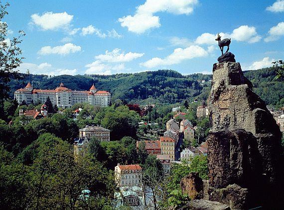 Карловы Вары в Чехии