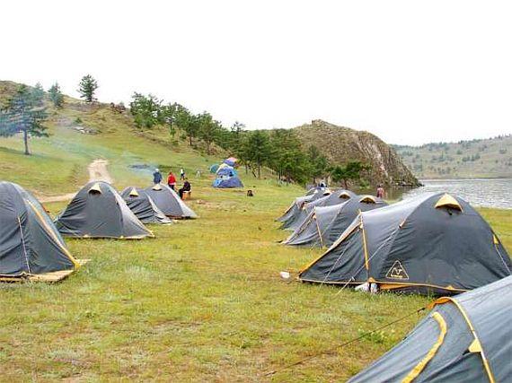 Отдых на Байкале в палатках