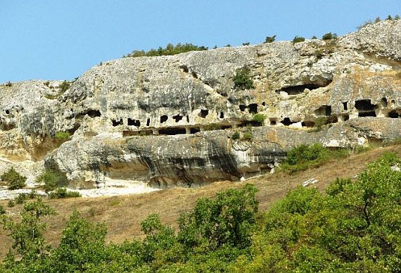 Пещерный город Мангуп Кале