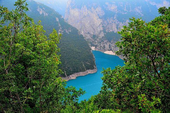 Пивское озеро. Черногория