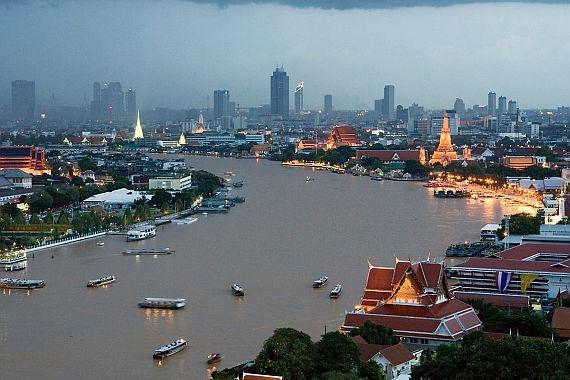 Тайланд Бангкок, Река Чао Прайя