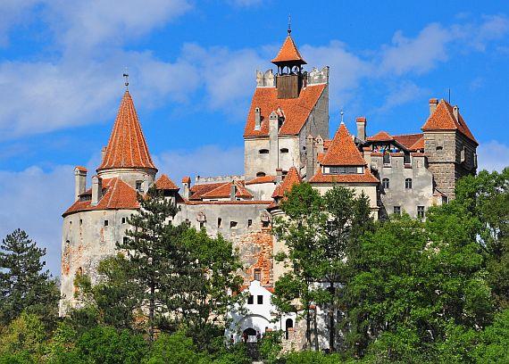 Замок Бран Румыния