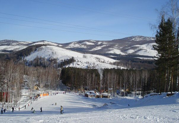 Абзаково горнолыжный курорт