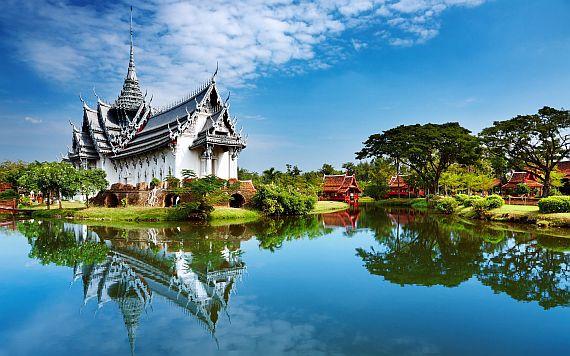 Буддийские храмы в Тайланде