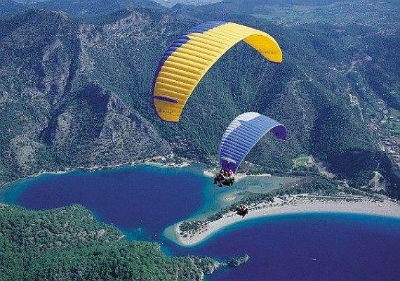 Экстримальный туризм с парашютом