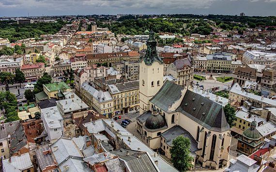 Город Львов достопримечательности. Латинский Кафедральный собор