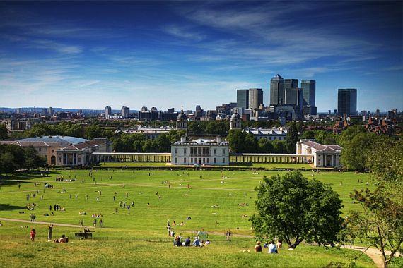Гринвич парк в Лондоне