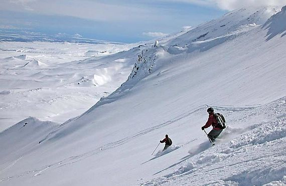 Камчатка горнолыжные курорты