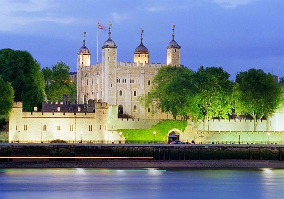 Крепость Тауэр в Лондоне