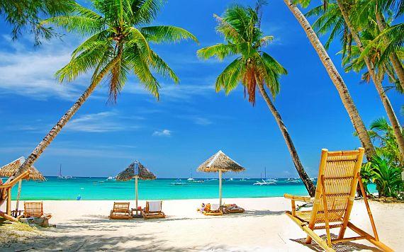 Пасивный отдых на пляже