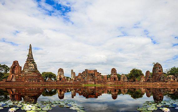 Сиам руины древней столицы