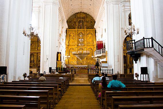 Собор Святой Екатерины на Гоа