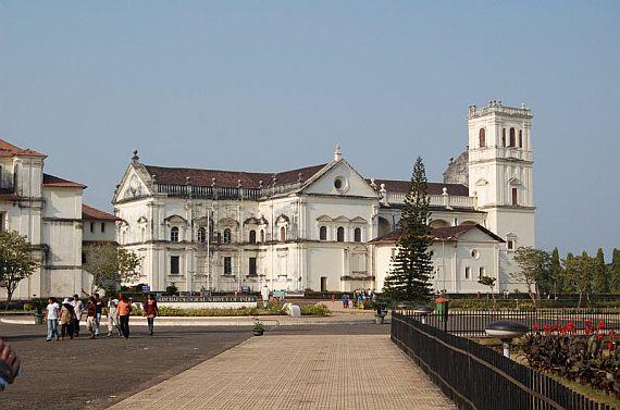Собор Святой Екатерины в Гоа