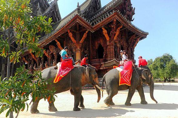 Тайланд экскурсии на слонах