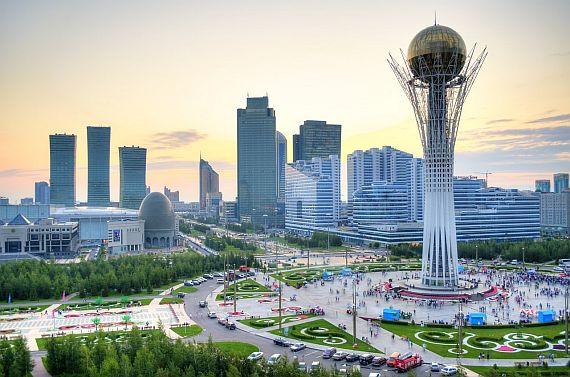 Астана Байтерек фото