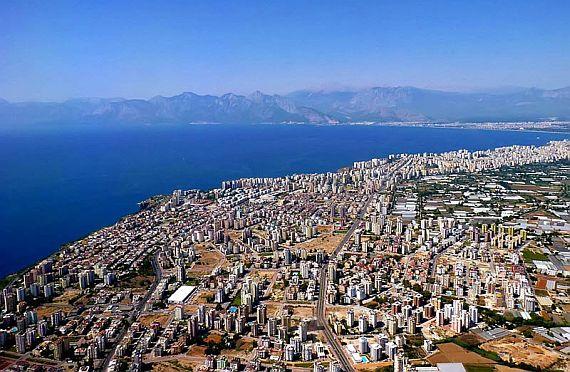Город Анталия. Турция