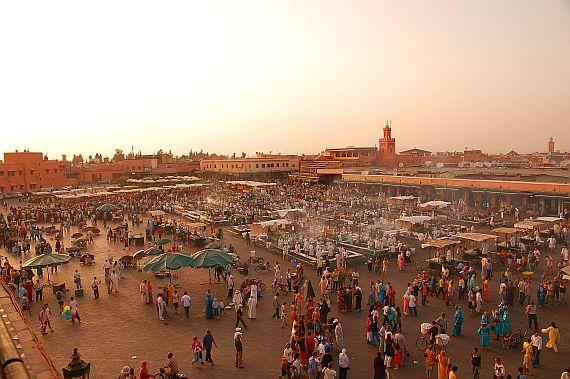 Площадь Jemaa El Fna
