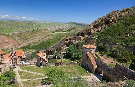 Путешествие в Грузию. Монастырь около Тбилиси