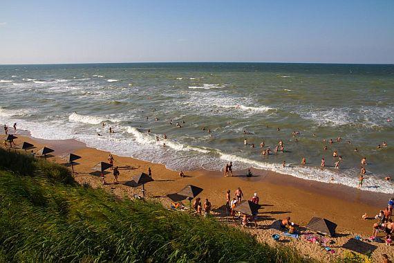 Российское побережье Азовского моря отдых
