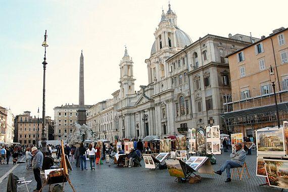 Шоппинг и отдых в Риме