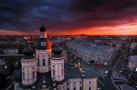 Санкт-Петербург. Владимирская площадь