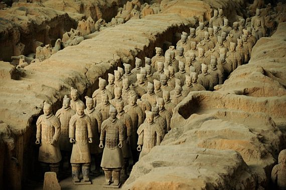 Терракотовая армия фото