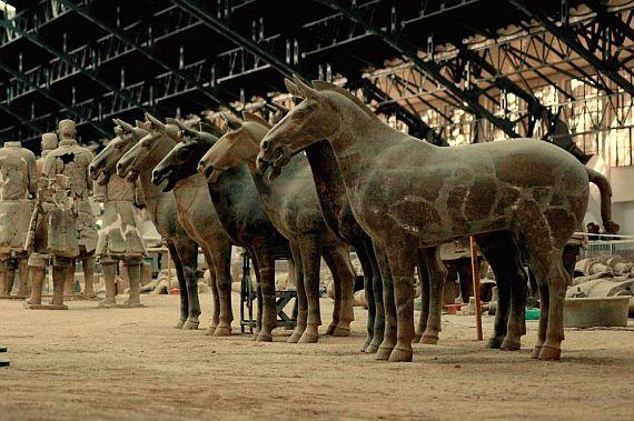 Терракотовая армия императора Цинь фото