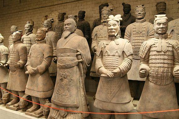 Терракотовая армия императора фото