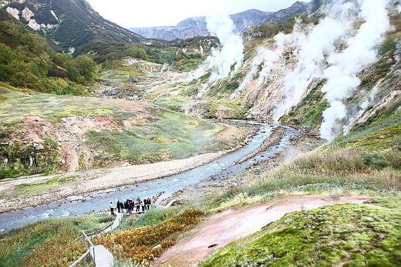 Гейзеры на Камчатке
