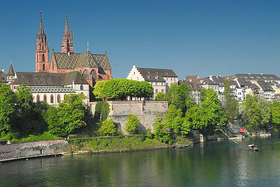 Город Базель Швейцария