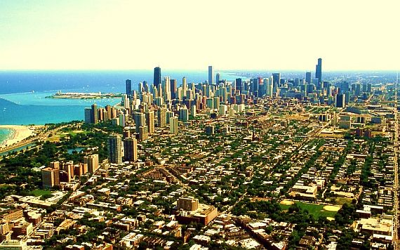 Город Чикаго США