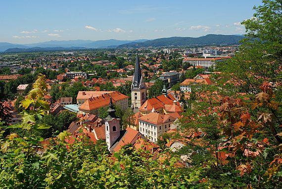 Город Любляна Словения