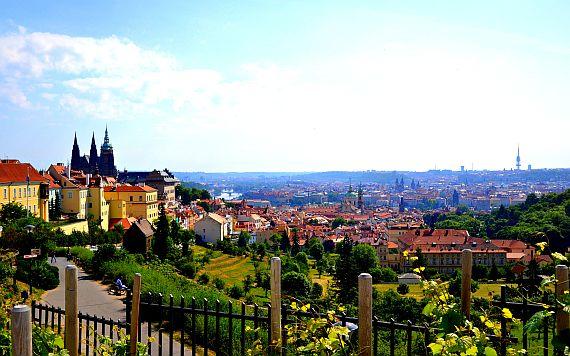 Город Прага в Чехии
