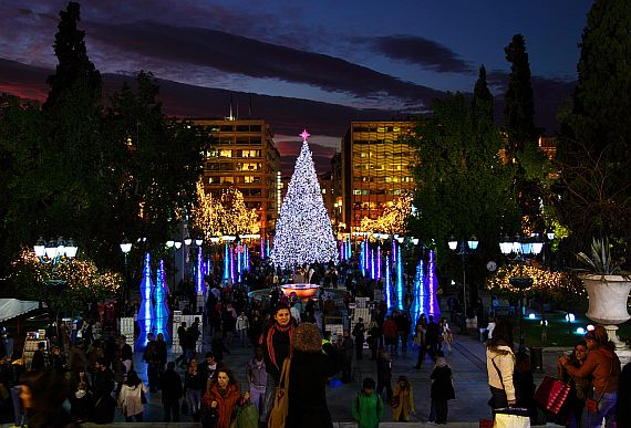 Как провести рождество в Греции