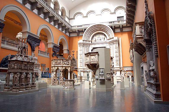 Музей Виктории и Альберта фото