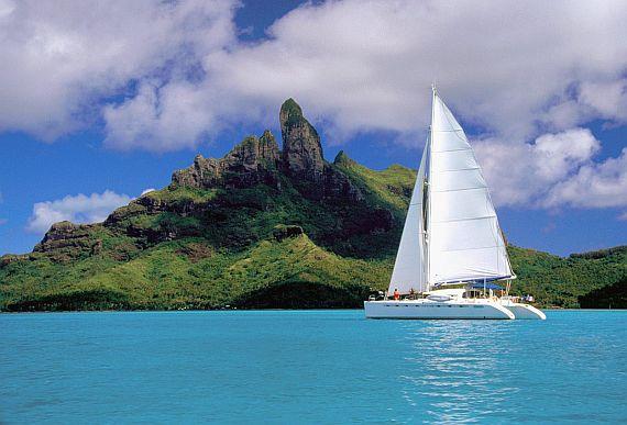 Парусный туризм - отдых на воде