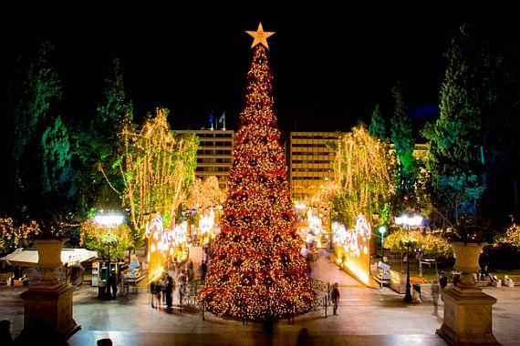 Рождество и праздники в Греции