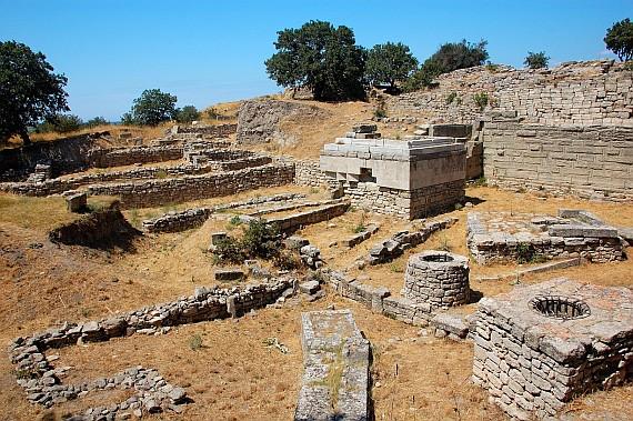 Руины Трои