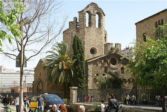 Церковь Сант Пау дель Камп