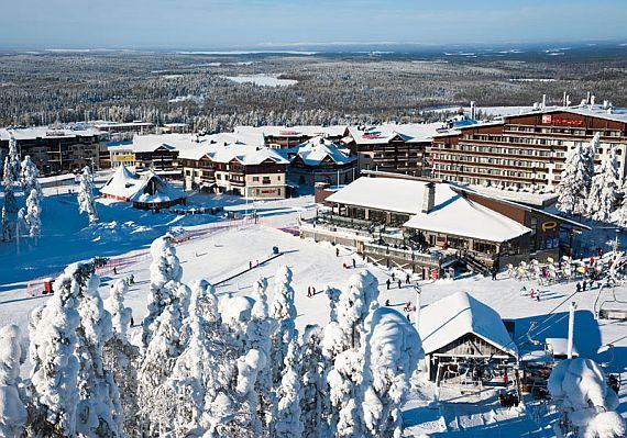 Зимние курорты Лапландии