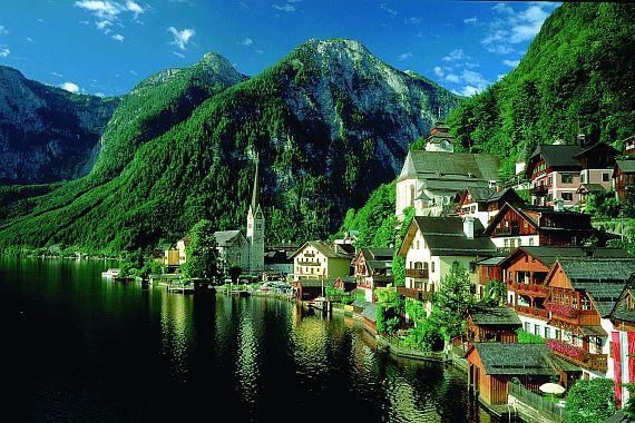 Австрия отдых летом