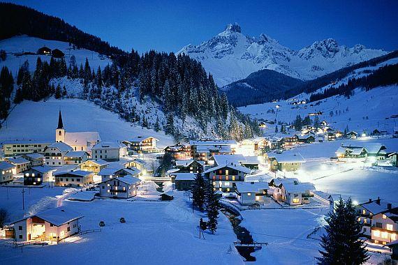 Отдых в Австрии зимой