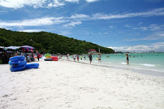 Пляж в Паттайе