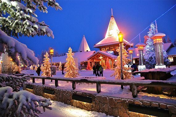 Деревня Санта-Клауса в Финляндии